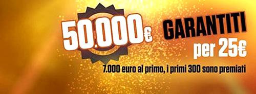 Fantastica Sfida 50.000€ montepremi garantito