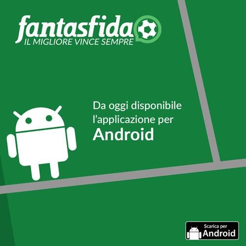 Fantasfida l'app per Android