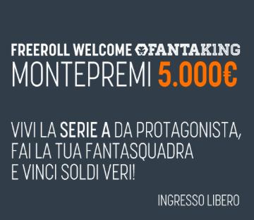 Fantaking torneo 5000 euro montepremi